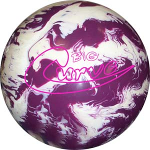 Lane 1 Big Curve Bowling Ball
